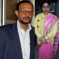 Dr Kalpataru and Manisha.